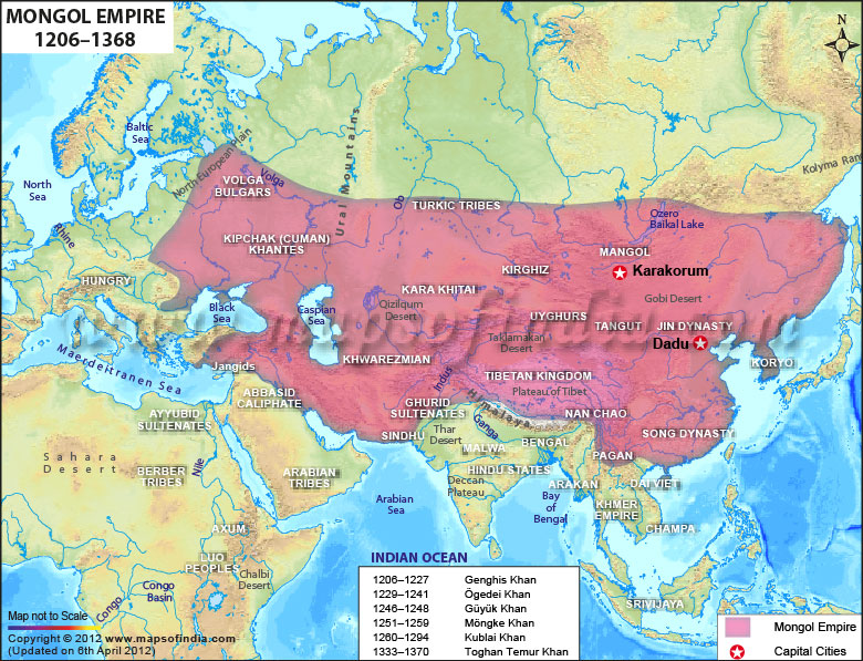 mongol-dynasty-map